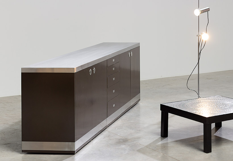 Willy Rizzo timeless modernist sideboard 1970