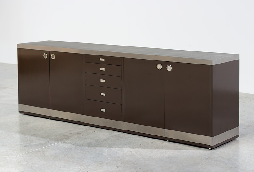 Willy Rizzo timeless modernist sideboard 1970 img 3