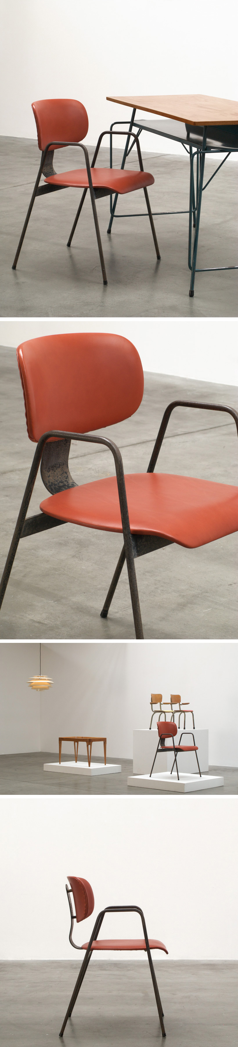 Willy Van der Meeren F2 chair Large