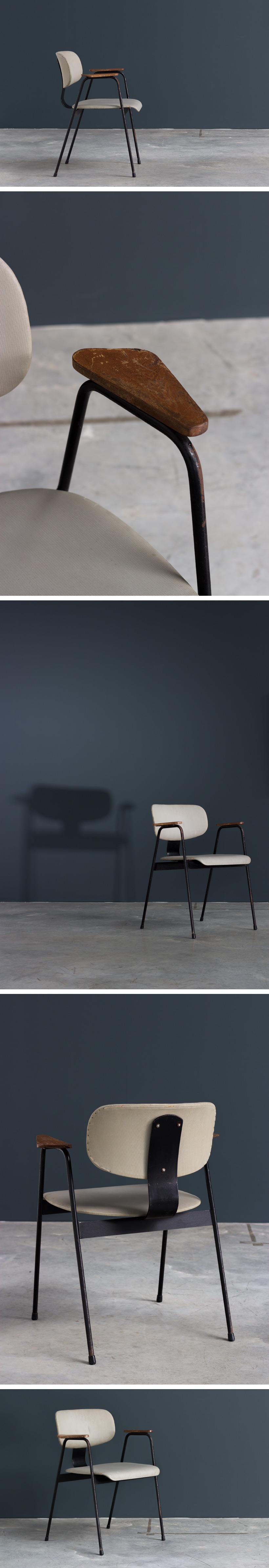 Willy Van Der Meeren F2 Desk chair Large