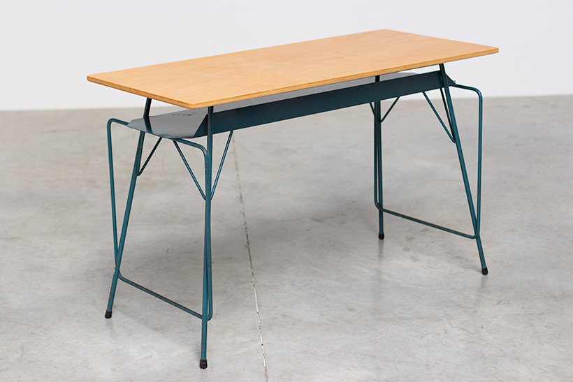Willy Van Der Meeren modern desk 1950 Belgian Social furniture img 8