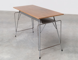 Willy Van Der Meeren Tubax grey writing table