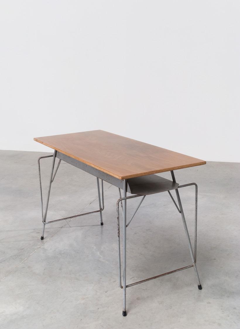 Willy Van Der Meeren Tubax grey writing table