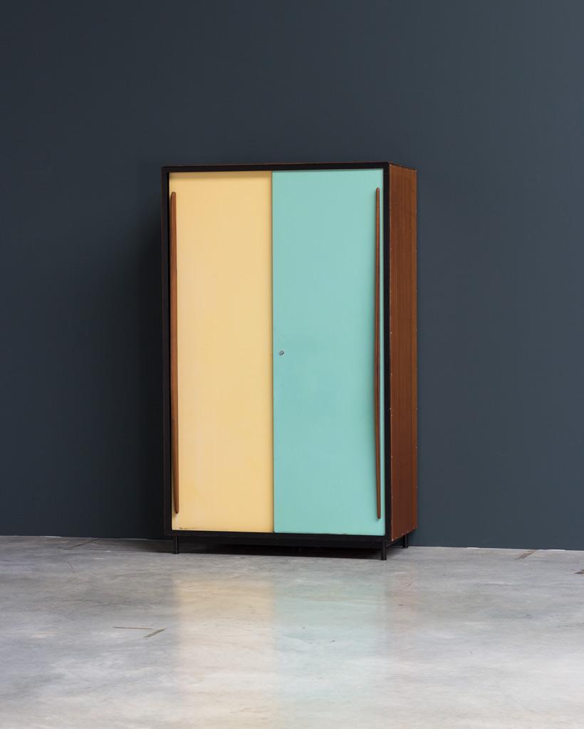 Willy Van Der Meeren wardrobe Cabinet Tubax 1952