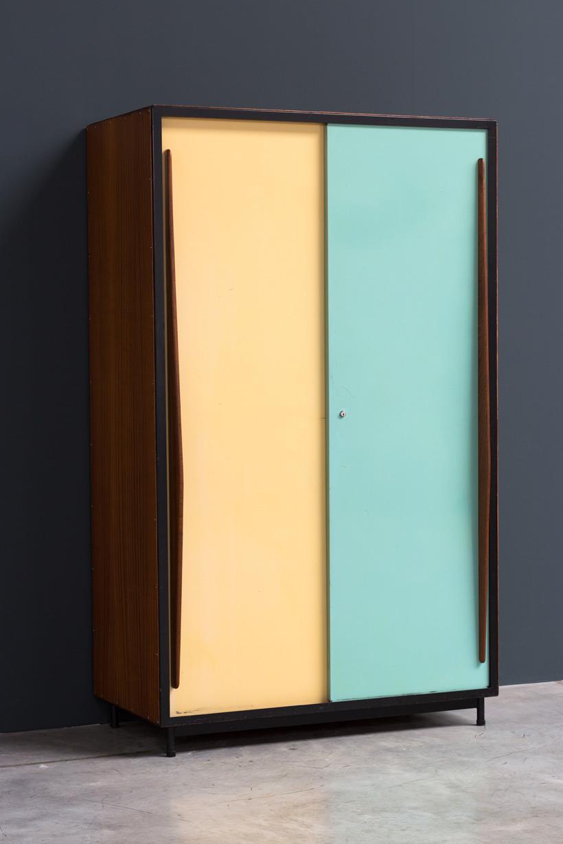 Willy Van Der Meeren wardrobe Cabinet Tubax 1952 img 4