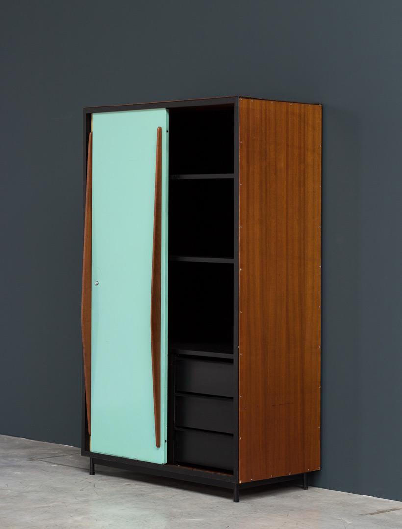 Willy Van Der Meeren wardrobe Cabinet Tubax 1952 img 5