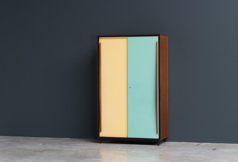 Willy Van Der Meeren wardrobe Cabinet Tubax 1952 img 6