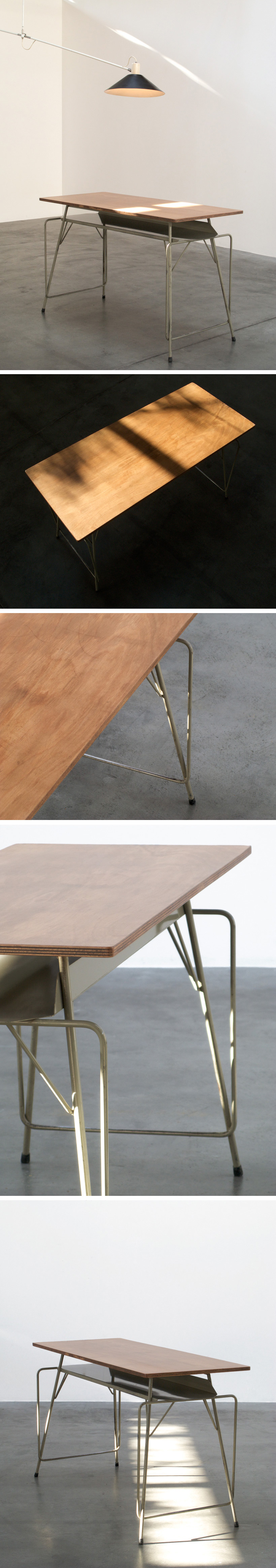 Willy Van Der Meeren writing table for Tubax Large