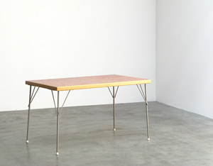 Wim Rietveld industrial dinning table Gispen