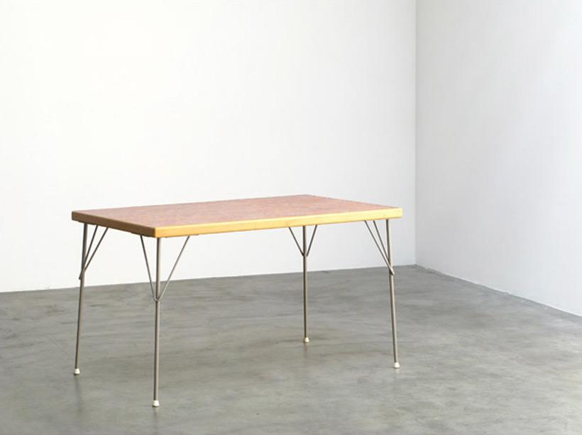 Wim Rietveld industrial dinning table Gispen