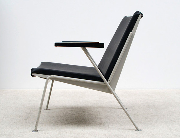 Wim Rietveld Oase industrial side chair