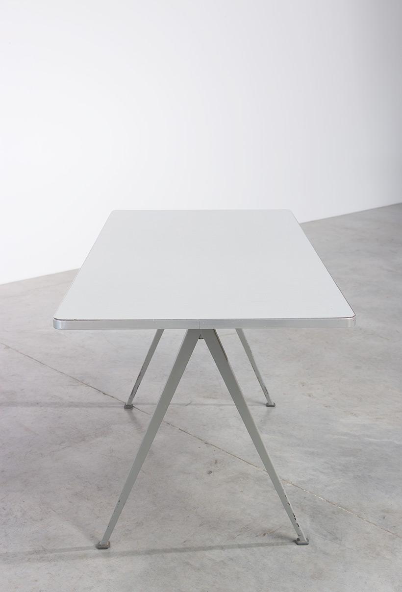 Wim Rietveld Vintage Pyramid table Ahrend de Cirkel 1960 T.H. Delft img 6
