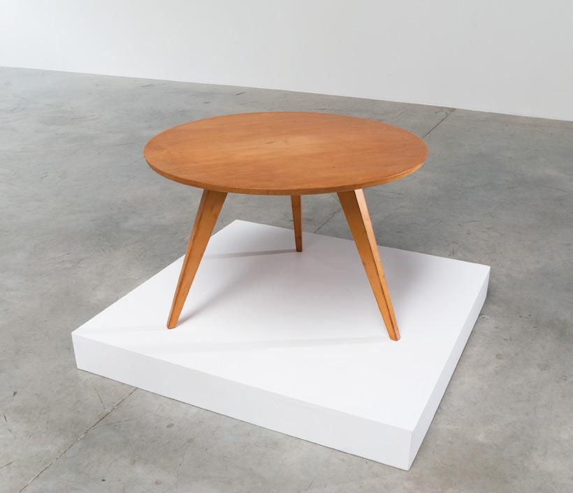 Wooden Coffee Table De Boer Rotterdam