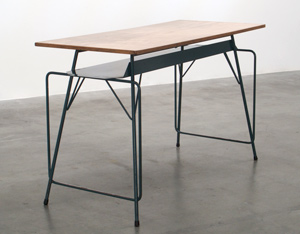 Writing table Willy Van Der Meeren for Tubax