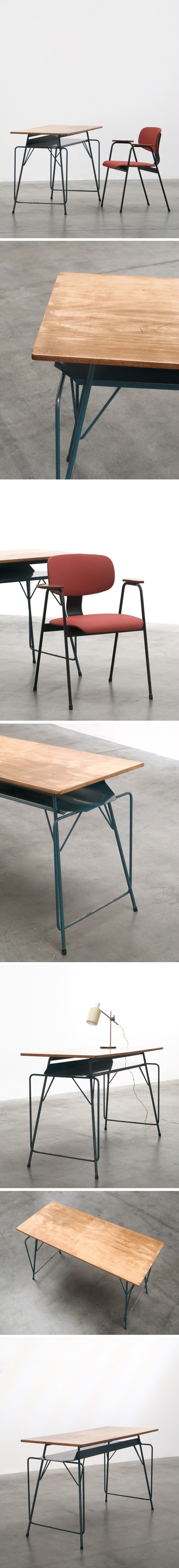 Writing table Willy Van Der Meeren for Tubax Large