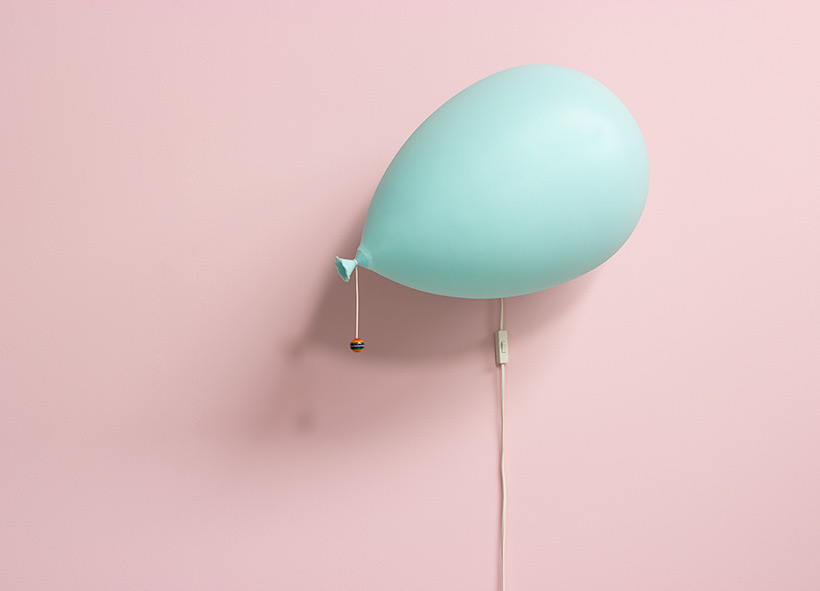 Yves Christin Design Icon Palloncino Balloon lamp for Bilumen