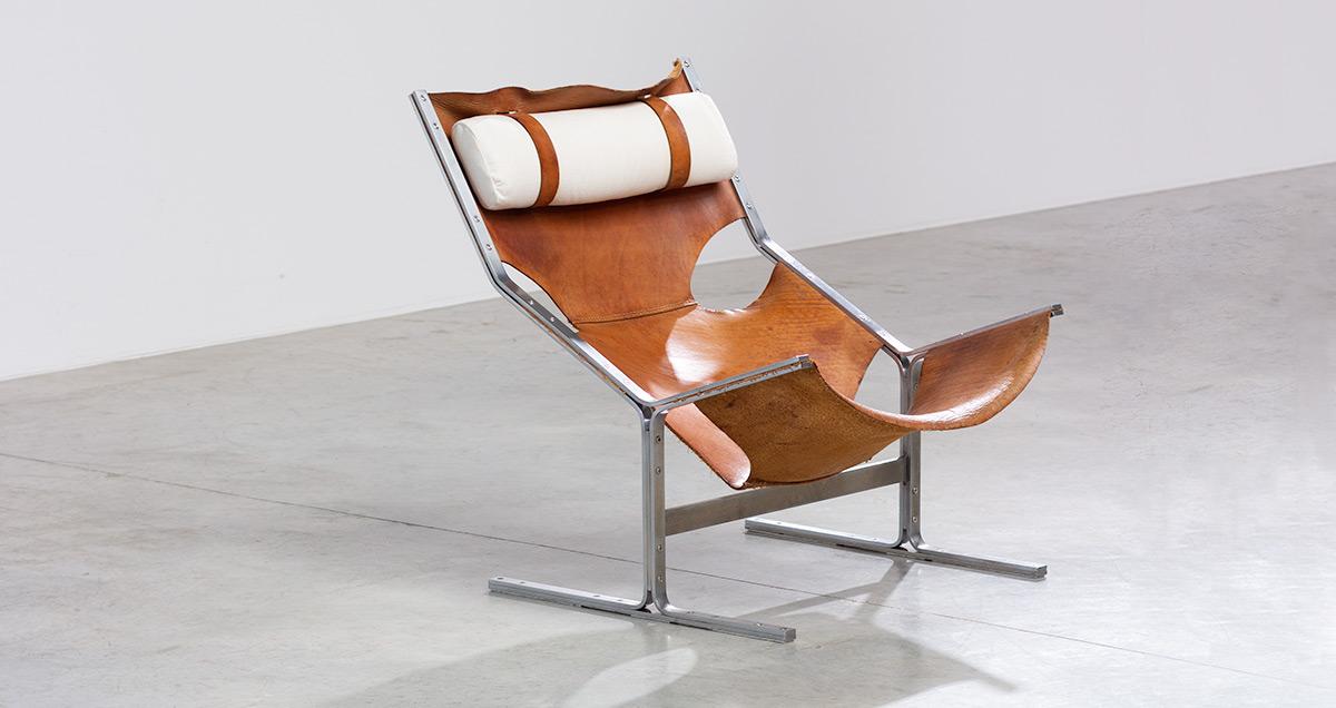 Modernist Dutch Lounge Chair Made By Ap Originals Abraham Furniture Industry Circa 1960